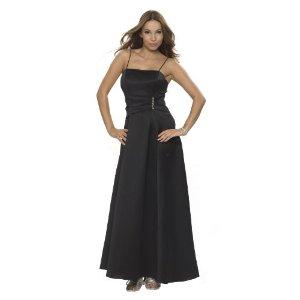 Luxus Abendkleid schwarz
